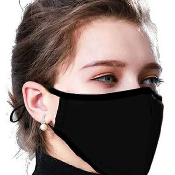 2 Máscaras proteção respiratória lavavel dupla camada
