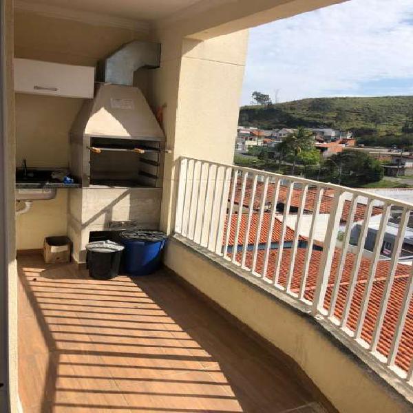 Apartamento com 2 dorms 1 suíte e varanda gourmet com