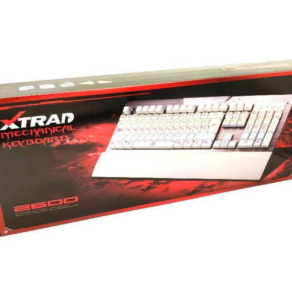 Teclado Gamer Jogos PC Computador Mecânico Novo Xtrad +