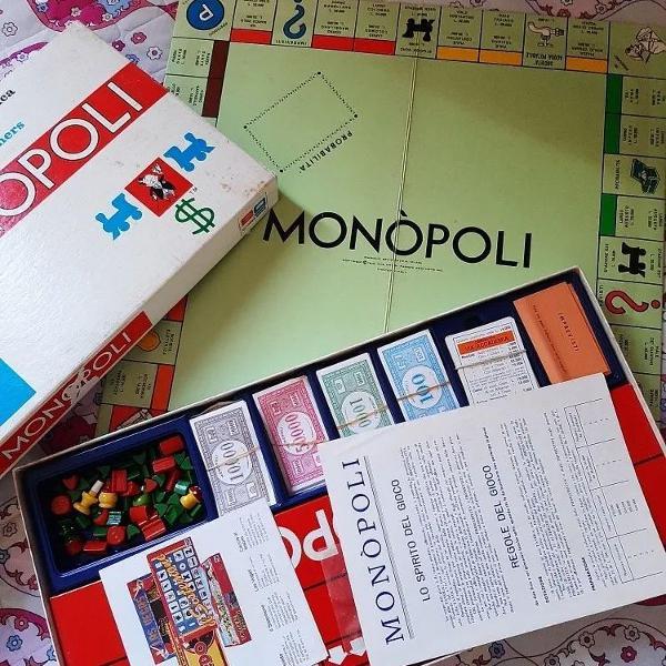 jogo de tabuleiro monopoli italiano anos 70