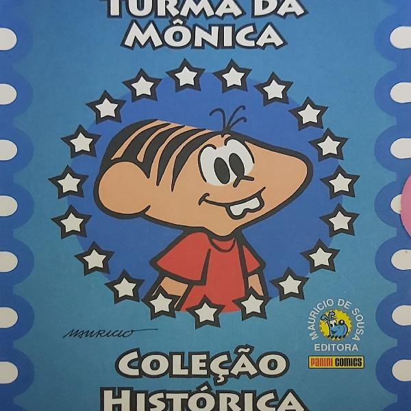Box Turma da Mônica Coleção Histórica (Vol. 1)
