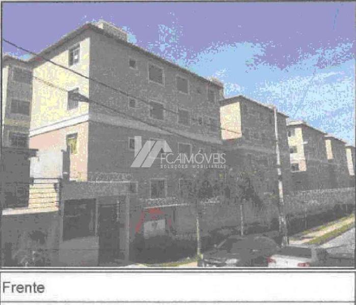Casa, Granja São João, 2 Quartos, 1 Vaga