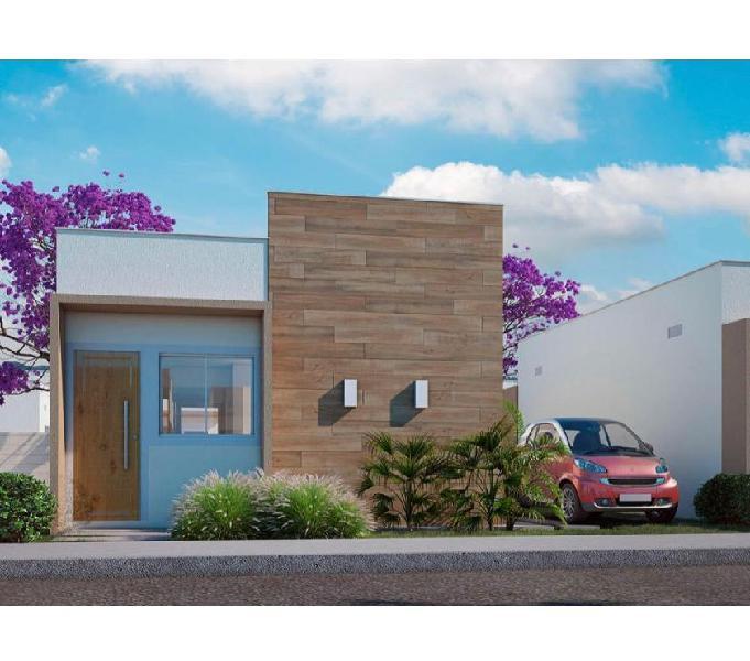 Flor do Mandacaru - Lançamento MRV - Casa de 2 quartos