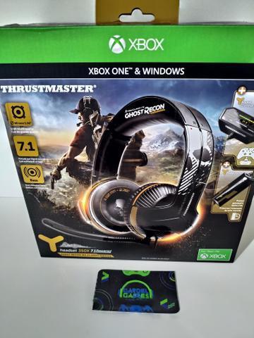 Headset Gamer 7.1 p/Xbox One (novo, lacrado na caixa)