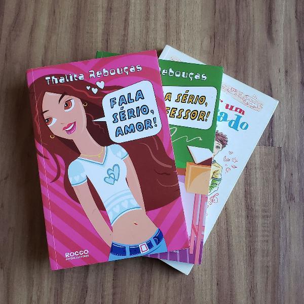 """Livros """"Fala sério"""" e """"Tudo por um namorado"""""""