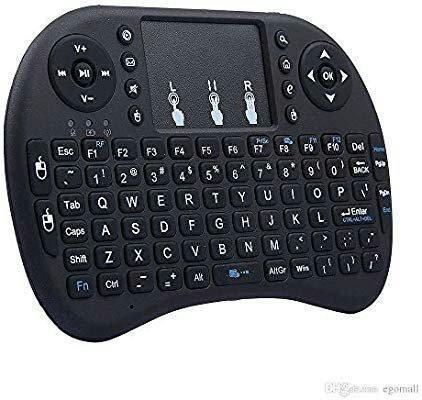 Mini Teclado Usb Wireless Sem Fio Touchpad