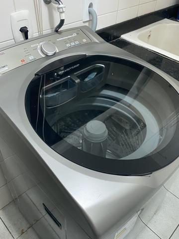 Máquina de Lavar Brastemp Ative 11 kg Inox - Top de linha