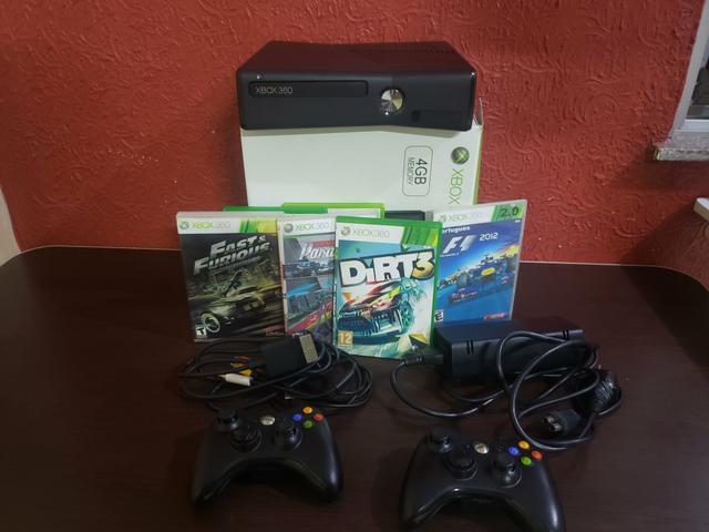 Oportunidade Única Xbox 360 destravado 50 jogos