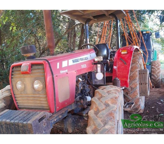Trator Massey Ferguson 283 4x4 Advanced (3 Alavancas!)