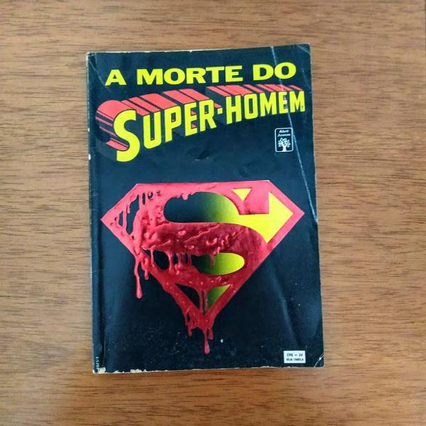 hq a morte do superman