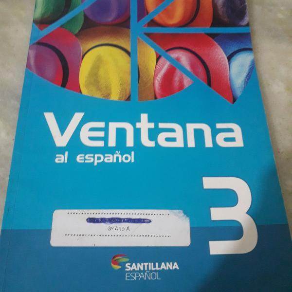 livro de espanhol Ventana al espanol número 3