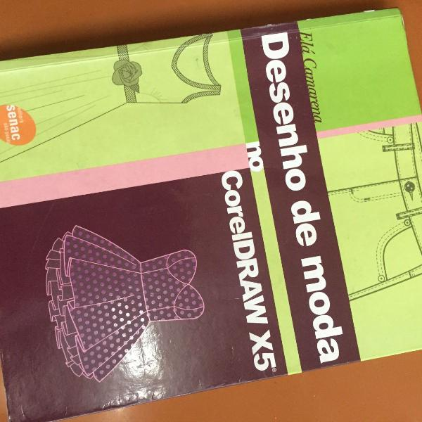 livro desenho de moda para corel draw senac