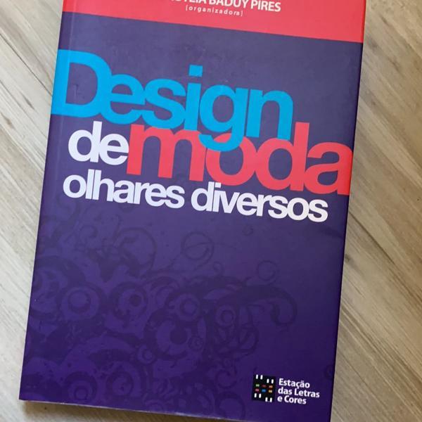 livro design de moda de diversos olhares