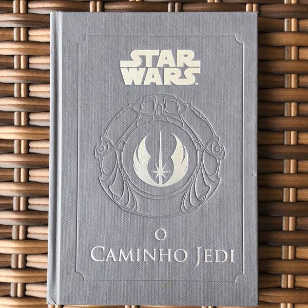 livro star wars - o caminho jedi (português) capa dura