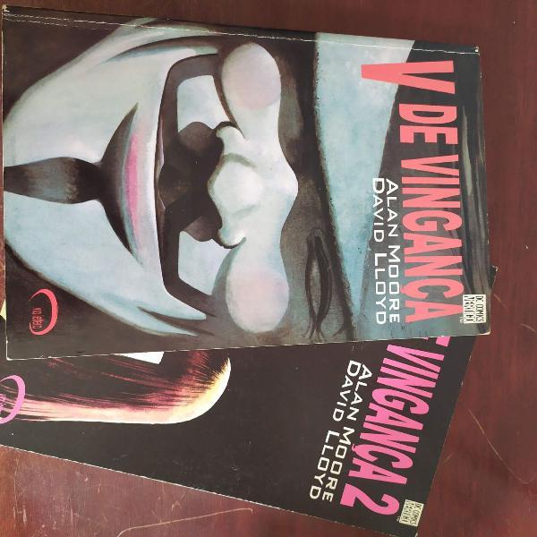 v de vingança (raro 1998) via lettera dc comics vertigo