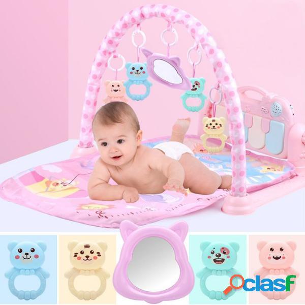 3 Em 1 Bebê Infantil Academia Jogar Mat Aptidão Música