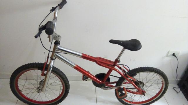 Bicicleta Cross BMX Aro 24 Alumínio