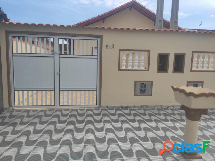 Casa nova de 2 dorms - suíte - pronta para morar no Suarão