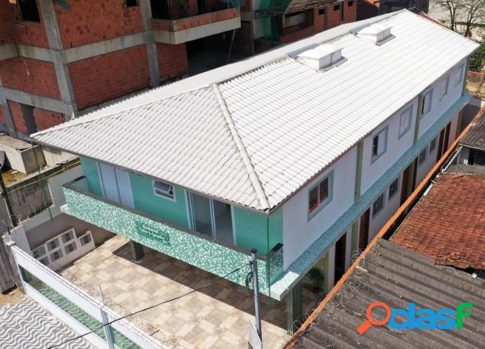 Casas novas de 2 dorms em Condomínio a 350m da praia na