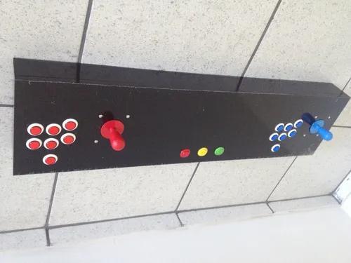 Controle Arcade Duplo Para Pc Ou Vídeo Game..
