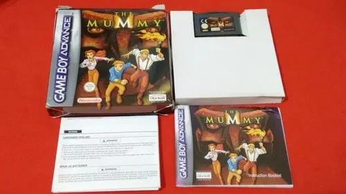 Jogo Game Boy Advance The Mummy Na Caixa Original