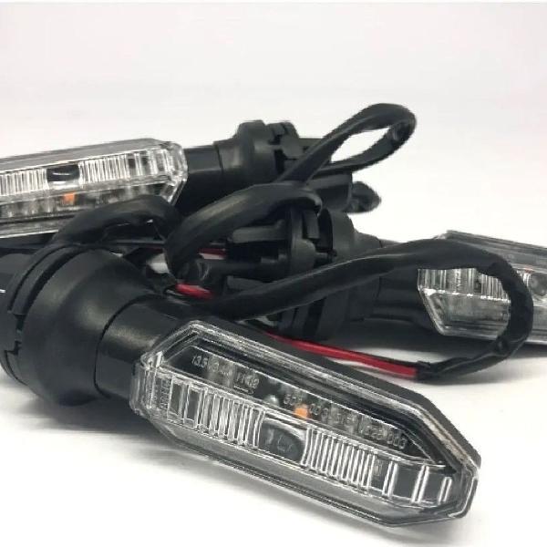 Kit 2 Piscas Traseiro ou Dianteiro Moto Cb 250 Twister