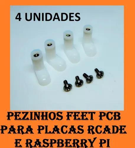 Kit Pezinhos Pcb Para Placa Zero Delay Usb - Jamma - Arcade