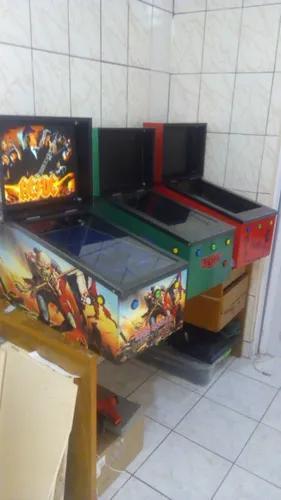 Máquina Pinball Virtual 32 Pol 460 Mesas