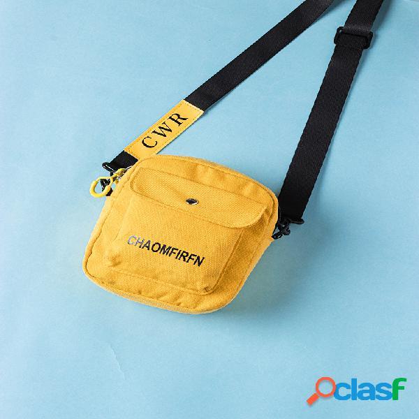 Mulheres Imprimir Esporte Outdoor Mini Bolsa Crossbody Bolsa