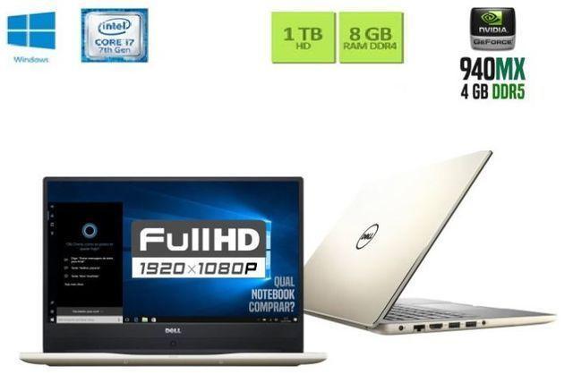Notebook Game Dell i7 Com Placa de Video 4GB DDr5