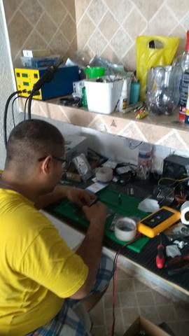 Trabalhamos manutenção de notebook e comércio de peças