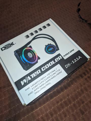 Water Cooler com led Rgb 120mm Para Processador Amd e Intel