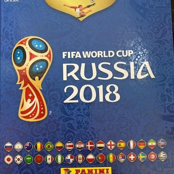 album fifa russia 2018 completo