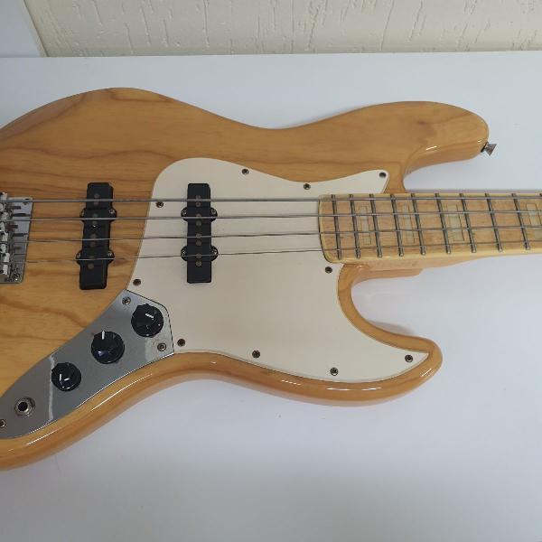 baixo sx jazz bass 4 cordas ash natural