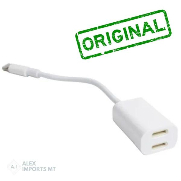 cabo iphone original adaptador 3 em 1 hmaston tx16 celular