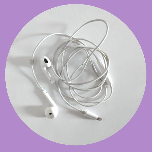 fone de ouvido original para iphone [apple]