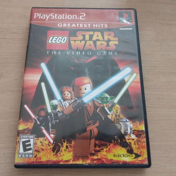 lego star wars - ps2 original