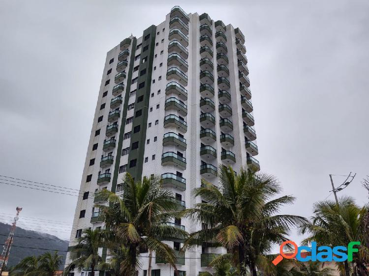 Apartamento 1 dormitório em edíficio frente ao mar -