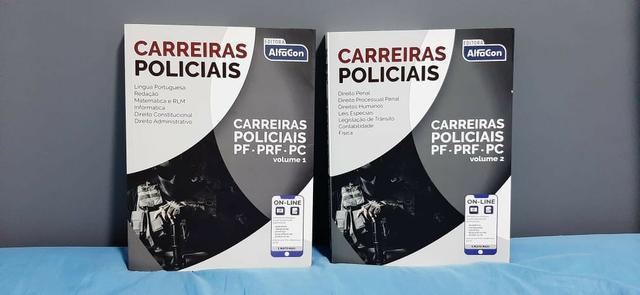 Apostilas ? Carreiras Policias ? Volume 1 e Volume 2 ?