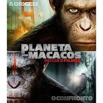 Blu-ray Lacrado Planeta dos Macacos 1 e 2