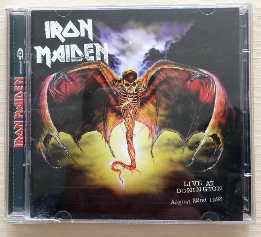 Cd Iron Maiden Live At Donington