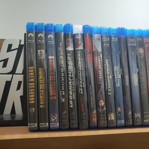 Coleção 44 Filmes Em Bluray - Super-Heróis e Outros