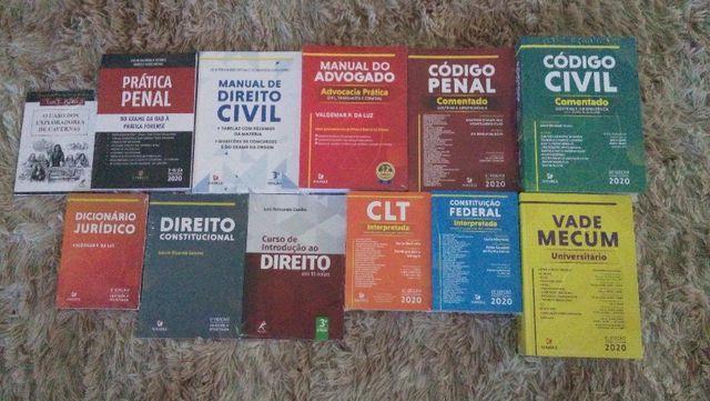 Coleção de Livros de Direito Novos Lacrados edição 2020