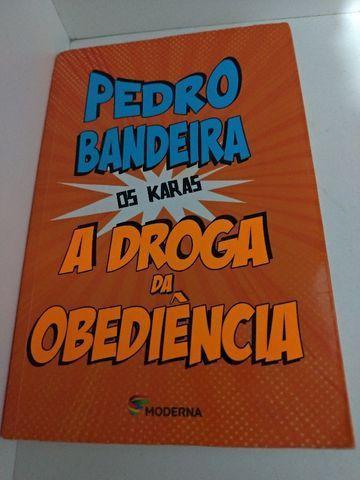 """Livro """"A droga da obediência"""" de Pedro Bandeira Sarzedo MG"""