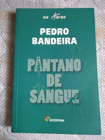 Livro: Pântano De Sangue - Pedro Bandeira