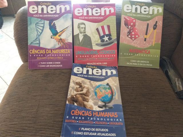 Livros para Enem (Interessados chama no Chat)