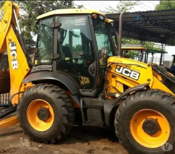 Retro Escavadeira jcb 4cx14ft