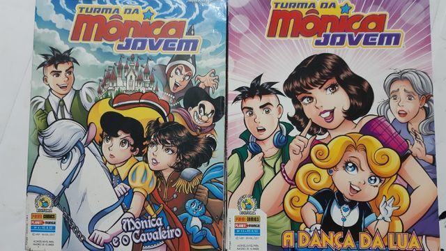 Turma Da Mônica Jovem 2ª Série -15 Edições