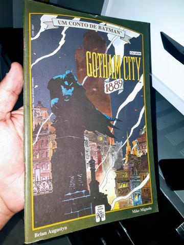 Um Conto De Batman - Gotham City - 1889 - Abril de 1990