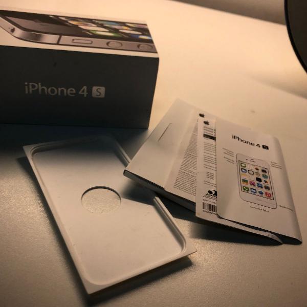 caixa original para iphone 4s